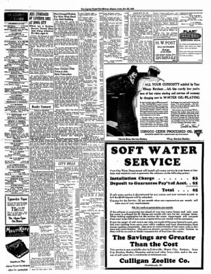 The Algona Upper Des Moines from Algona, Iowa on October 25, 1938 · Page 11