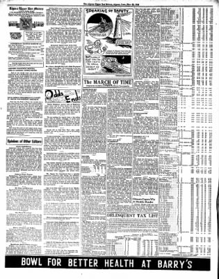 The Algona Upper Des Moines from Algona, Iowa on November 22, 1938 · Page 6
