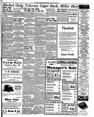 The Algona Upper Des Moines from Algona, Iowa on November 22, 1938 · Page 7