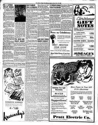 The Algona Upper Des Moines from Algona, Iowa on November 29, 1938 · Page 4