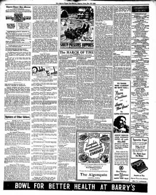 The Algona Upper Des Moines from Algona, Iowa on December 20, 1938 · Page 8