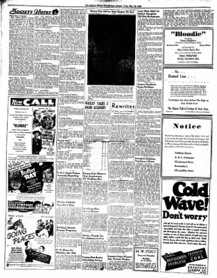 The Algona Upper Des Moines from Algona, Iowa on December 29, 1938 · Page 4