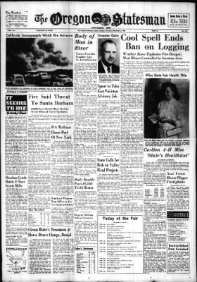 Statesman Journal from Salem, Oregon on September 8, 1955 · Page 1