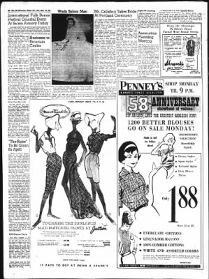 Statesman Journal from Salem, Oregon on March 13, 1960 · Page 26 on