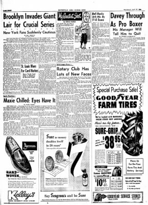The Courier News from Blytheville, Arkansas on May 27, 1954 · Page 8