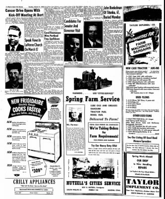 The Algona Upper Des Moines from Algona, Iowa on March 21, 1950 · Page 2
