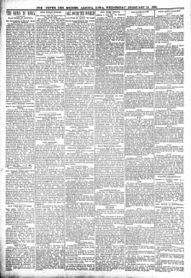 The Algona Upper Des Moines from Algona, Iowa on February 16, 1898 · Page 2