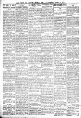 The Algona Upper Des Moines from Algona, Iowa on March 2, 1898 · Page 2
