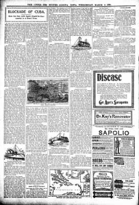 The Algona Upper Des Moines from Algona, Iowa on March 9, 1898 · Page 6