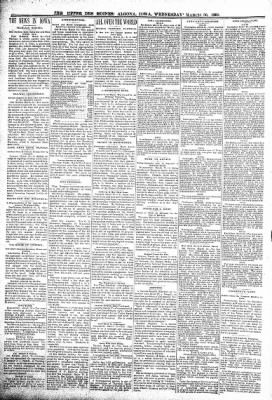 The Algona Upper Des Moines from Algona, Iowa on March 30, 1898 · Page 6