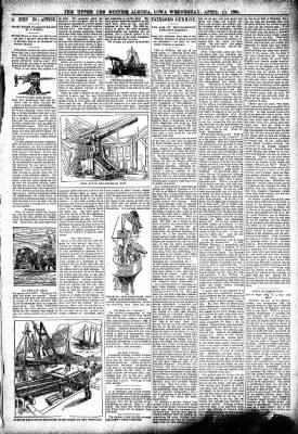 The Algona Upper Des Moines from Algona, Iowa on April 13, 1898 · Page 3