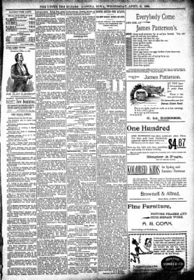 The Algona Upper Des Moines from Algona, Iowa on April 13, 1898 · Page 5