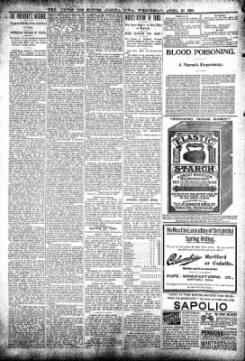 The Algona Upper Des Moines from Algona, Iowa on April 20, 1898 · Page 6