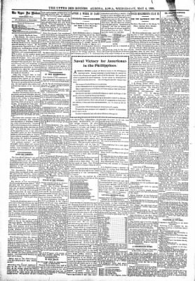 The Algona Upper Des Moines from Algona, Iowa on May 4, 1898 · Page 4