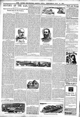 The Algona Upper Des Moines from Algona, Iowa on May 18, 1898 · Page 6