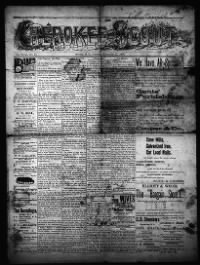 Sample Cherokee Scout front page