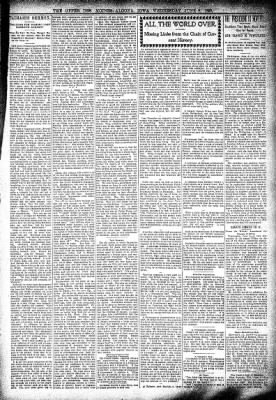 The Algona Upper Des Moines from Algona, Iowa on June 8, 1898 · Page 3