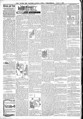 The Algona Upper Des Moines from Algona, Iowa on June 8, 1898 · Page 8
