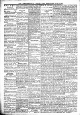 The Algona Upper Des Moines from Algona, Iowa on June 22, 1898 · Page 4