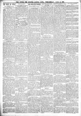 The Algona Upper Des Moines from Algona, Iowa on June 29, 1898 · Page 2