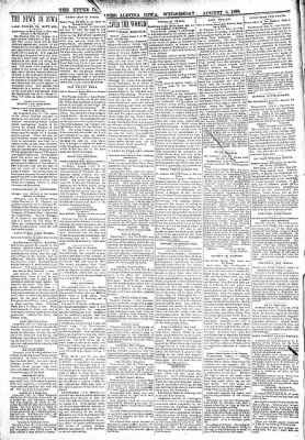 The Algona Upper Des Moines from Algona, Iowa on August 3, 1898 · Page 2