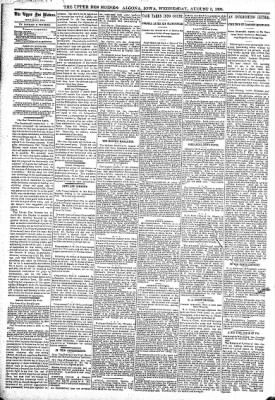 The Algona Upper Des Moines from Algona, Iowa on August 3, 1898 · Page 4