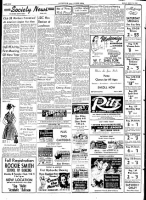 The Courier News from Blytheville, Arkansas on September 11, 1953 · Page 4