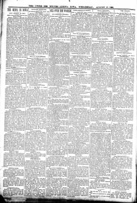 The Algona Upper Des Moines from Algona, Iowa on August 17, 1898 · Page 2