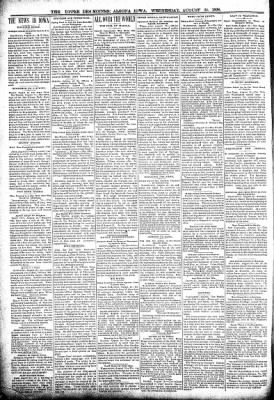 The Algona Upper Des Moines from Algona, Iowa on August 24, 1898 · Page 2