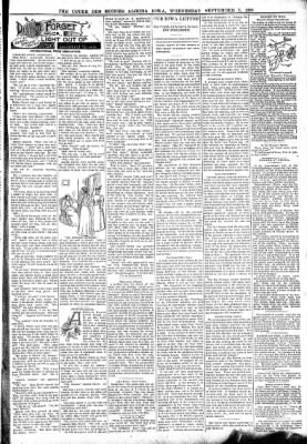 The Algona Upper Des Moines from Algona, Iowa on September 7, 1898 · Page 3