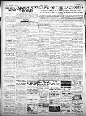 Oakland Tribune from Oakland, California on December 30, 1916 · Page 14