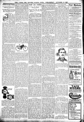 The Algona Upper Des Moines from Algona, Iowa on October 12, 1898 · Page 6