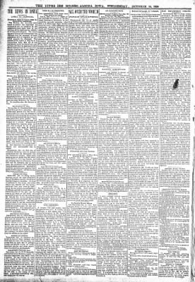 The Algona Upper Des Moines from Algona, Iowa on October 19, 1898 · Page 2