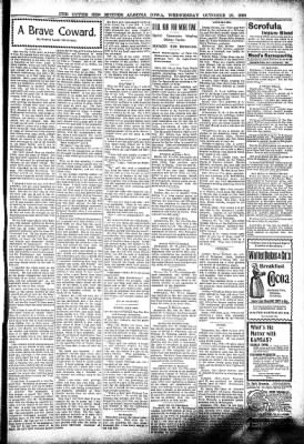 The Algona Upper Des Moines from Algona, Iowa on October 26, 1898 · Page 3