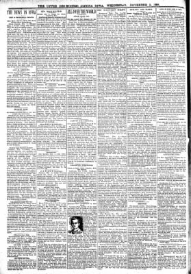 The Algona Upper Des Moines from Algona, Iowa on November 9, 1898 · Page 2