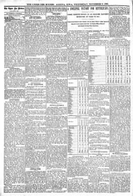 The Algona Upper Des Moines from Algona, Iowa on November 9, 1898 · Page 4