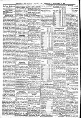 The Algona Upper Des Moines from Algona, Iowa on November 16, 1898 · Page 4