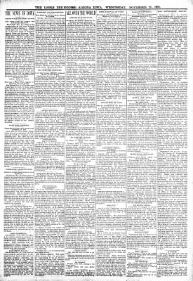 The Algona Upper Des Moines from Algona, Iowa on November 23, 1898 · Page 2