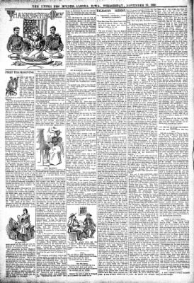 The Algona Upper Des Moines from Algona, Iowa on November 23, 1898 · Page 6