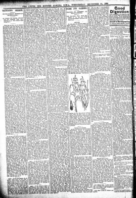 The Algona Upper Des Moines from Algona, Iowa on December 21, 1898 · Page 6