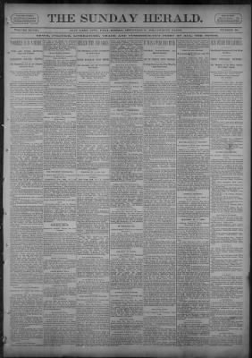 The Salt Lake Herald from Salt Lake City, Utah on September 17, 1893 · Page 1