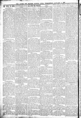 The Algona Upper Des Moines from Algona, Iowa on January 4, 1899 · Page 2