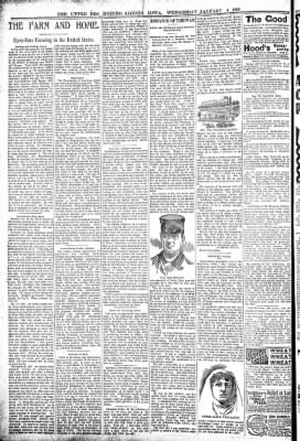 The Algona Upper Des Moines from Algona, Iowa on January 4, 1899 · Page 6