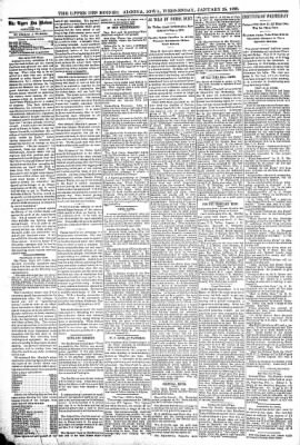 The Algona Upper Des Moines from Algona, Iowa on January 25, 1899 · Page 4