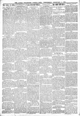 The Algona Upper Des Moines from Algona, Iowa on February 1, 1899 · Page 6