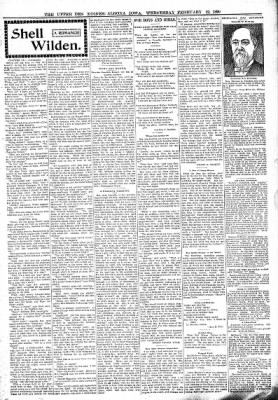 The Algona Upper Des Moines from Algona, Iowa on February 22, 1899 · Page 3