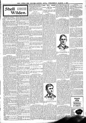 The Algona Upper Des Moines from Algona, Iowa on March 1, 1899 · Page 3
