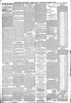 The Algona Upper Des Moines from Algona, Iowa on March 15, 1899 · Page 4