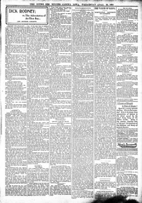 The Algona Upper Des Moines from Algona, Iowa on April 26, 1899 · Page 3