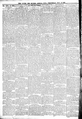 The Algona Upper Des Moines from Algona, Iowa on May 17, 1899 · Page 2